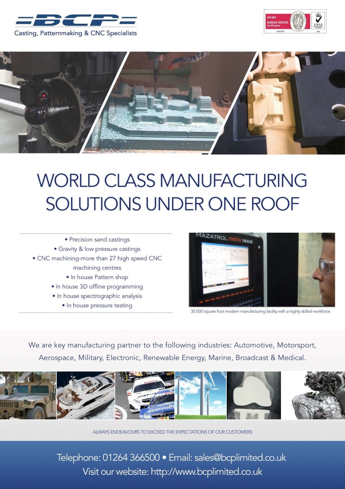 Double Sided Leaflet for Manufacturing